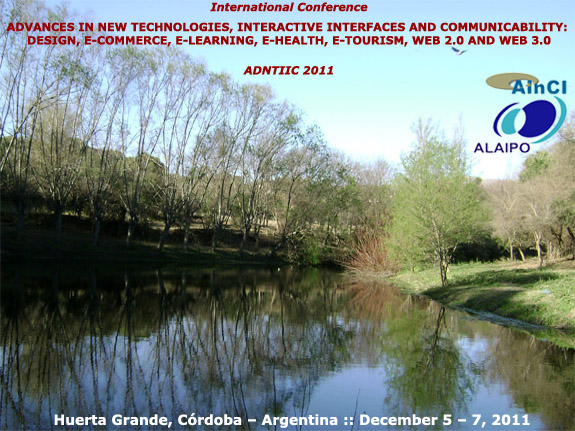 International Conference ADNTIIC 2011 :: Huerta Grande, Córdoba - Argentina